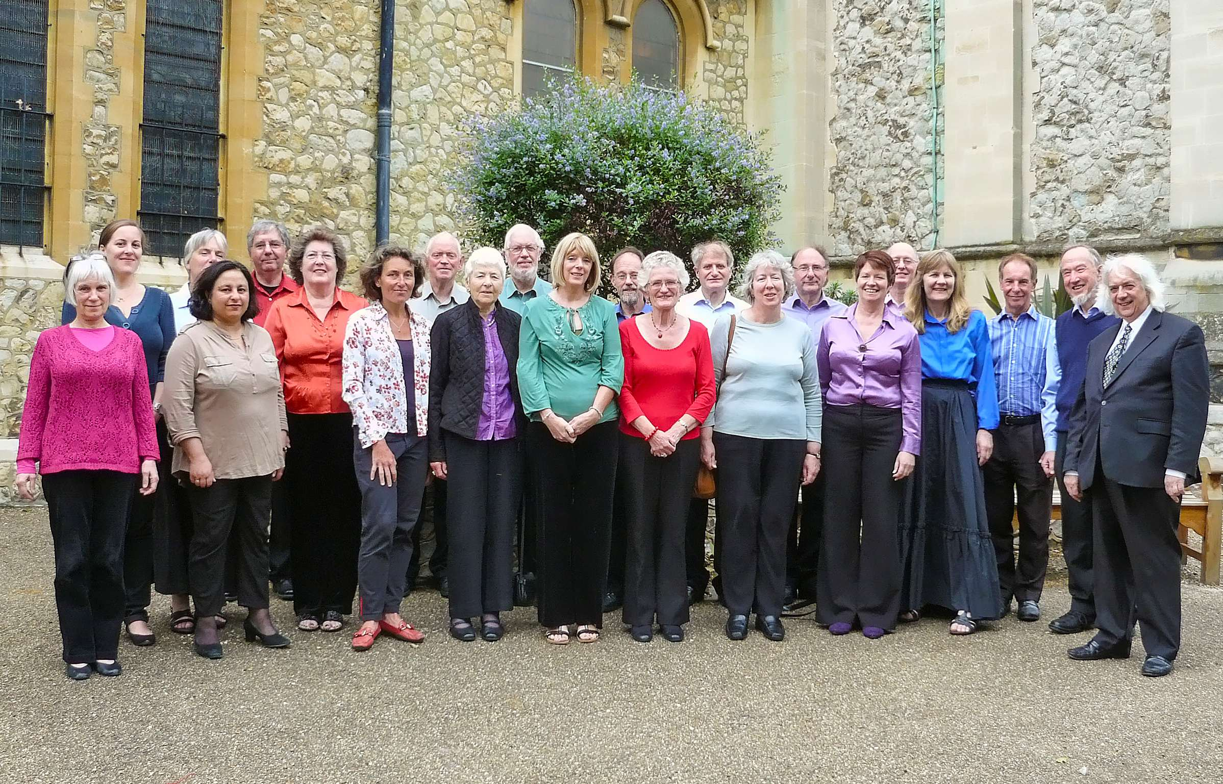 The Elm Singers June 2012